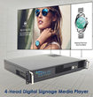Keywest Technology Releases 4-Channel Signage Player That Connects to Cloud Services
