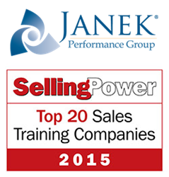 Janek Performance Group Named to 2015 Top 20 Sales Training Companies
