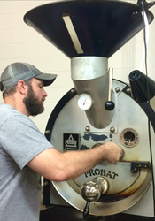 Chris Shegitz is a coffee quality technician with Ohio coffee roaster Crimson Cup Coffee & Tea