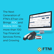 The Next Generation of FTNI's ETran Lite Brings RDC and Mobile RDC to more than 100 Top Financial Services Firms, and Growing