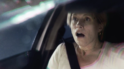 Albuquerque creative agency RK Venture opted for startling realism to get driver message across to drivers.