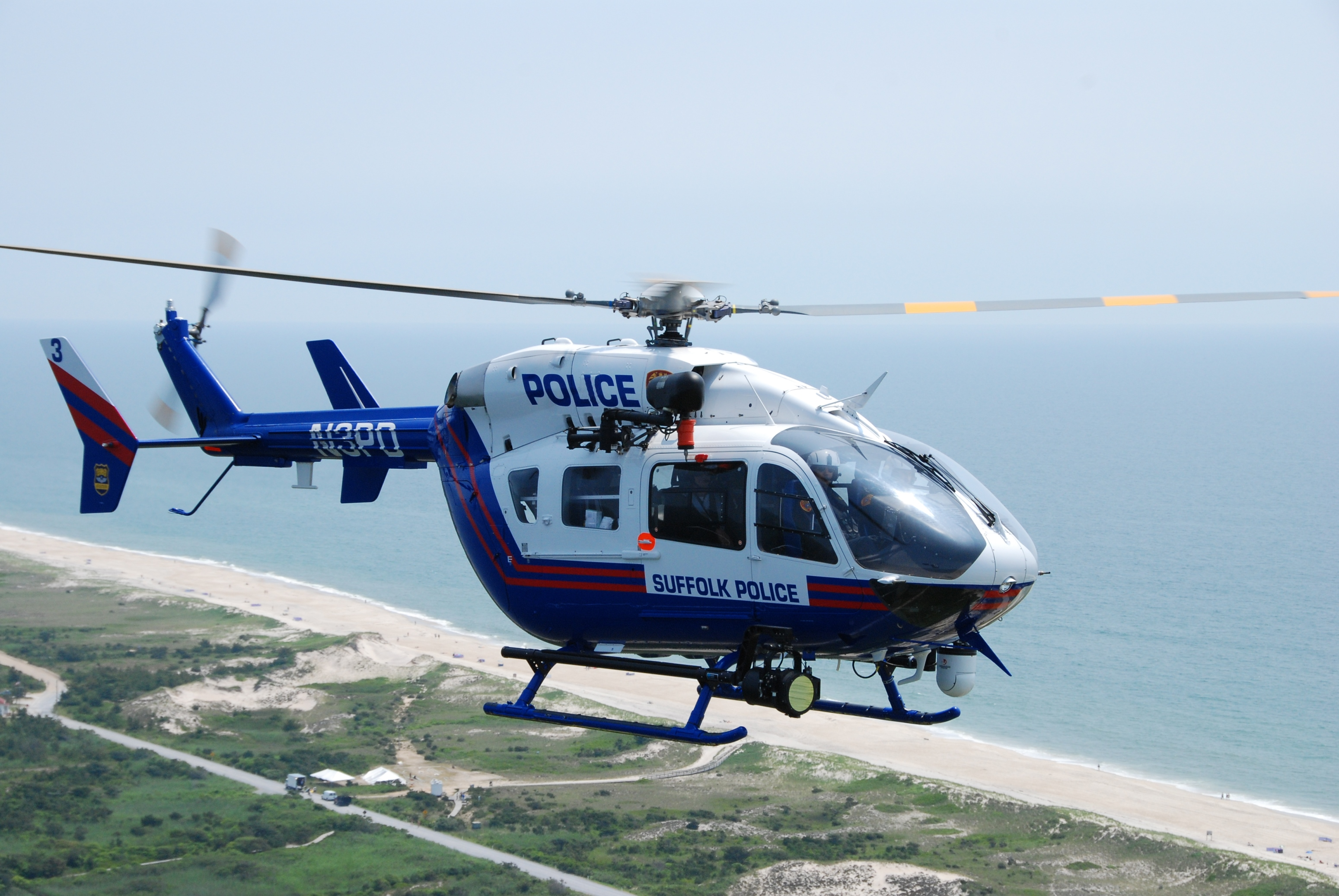 Elicottero H145 : Suffolk county police department takes delivery of second