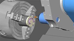 Mill Turn CAD-CAM Software Simulation