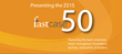 "Fastcase Announces 2015 ""Fastcase 50"" Award Winners"