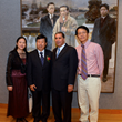 Former New York Governor David Paterson visits 12th China National Exhibition of Fine Arts