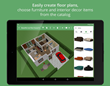 Android Users Can Create Floorplans and Interior Designs Easily