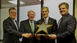 Turner and Downtown Dallas, Inc. Present Baylor Scott & White Health with Silver Star Award