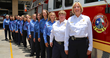 Some of the women of the Austin Fire Department. AFD employes twice the national average!