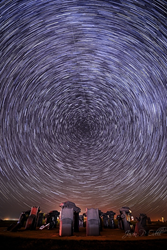 Star trails by Jason P. Odell