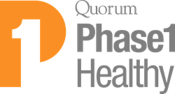 Quorum Review Phase I Healthy logo