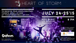 Heart of Storm Rock Ballet