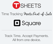 Square and TSheets Open Up Time Tracking at the Register