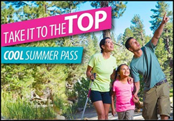 The Palm Springs Aerial Tramway's Summer Pass Program.