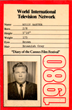 """Billy 'Silver Dollar' Baxter's """"Credentials"""" for 1980 Cannes Film Festival"""