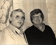 Billy 'Silver Dollar' Baxter and Roger Ebert