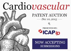 ICAP IP Is Accepting Portfolio Submissions for the December Cardiovascular Auction
