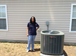 Carolina Comfort Air Recently Donates New HVAC System to Deserving Social Worker.