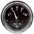 Stewart Warner Deluxe Series Oil Pressure Gauge