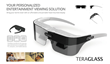 TeraGlass Head Mounted Display Unit