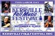 Kerrville Folk Music Foundation Presents the Kerrville Fall Music Festival