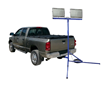 Larson Electronics Releases an 800 Watt LED Trailer Hitch Mounted Work Light
