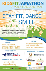 Kidsfit jamathon, South Florida Fairgrounds, La Granja Restaurants