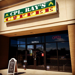 Cpl Ray's Coffee Odessa Texas