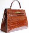 Hermes handbag available through Lilac Blue London