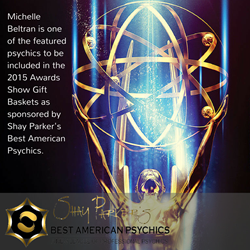 Michelle Beltran 67th Emmy Awards featured psychic