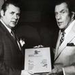 Ed Sullivan Presents Billy 'Silver Dollar' Baxter Best Press Agent Award of 1970