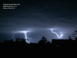 Lightning strike photography with iPhone or iPad made easy