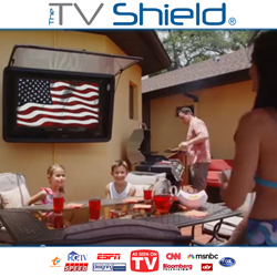 The TV Shield vacation giveaway, go to orlando this summer, watch your TV outside