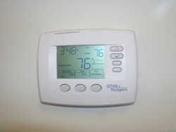 Use a programmable thermostat.