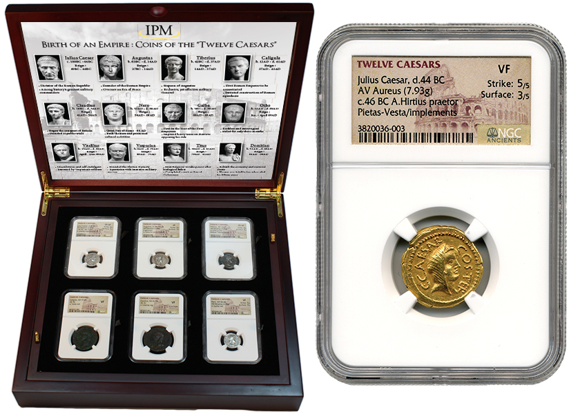 Roman coin display case - Basic attention token inflation note