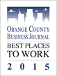 Orange County Business Journal Best Places to Work 2015