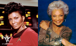 Then and now: Nichelle Nichols