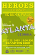 Heroes In Recovery to Host Fourth Annual 6k Run/Walk In Atlanta on July 25th