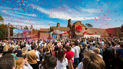 THE UNPRECEDENTED GROWTH AND EPIC ESCALATION of the Church of Scientology continued its ambitious movement forward with the grand opening July 18 of the new Ideal Continental Liaison Office of the United Kingdom. The dedication touched off a joyous celebr
