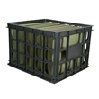 Set of 6 Plastic Crates $50.99