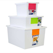 Set of 6 Plastic Storage Boxes $54.99