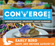 Converge Consulting Announces Two Influential Sponsors for Converge 2015