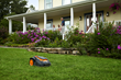 The New WORX Landroid Unmanned Mowing Vehicle Cuts The Lawn While Homeowners Enjoy Summer