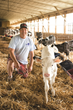 Chuck Fry is a fourth generation dairy farmer.