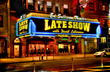 Marquee for Late Show with David Letterman