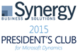 Synergy Business Solutions Named to 2015 Microsoft Dynamics President's Club