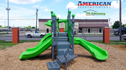 McKinney Housing Authority get new playground equipment from American Parks Company