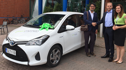 Green Motion Finland Car Hire welcomes first customer
