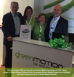 Green Motion Finland Team with Green Motion Chairman Richard Lowden