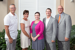 From Left: Chad Youngquist, Kim Sigler, Melinda Bloomquist, Phil Campbell, and Darrin Peppard