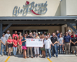 Glory Bound Gyro Co. Opens Covington Location with Ribbon Cutting and Check Presentation